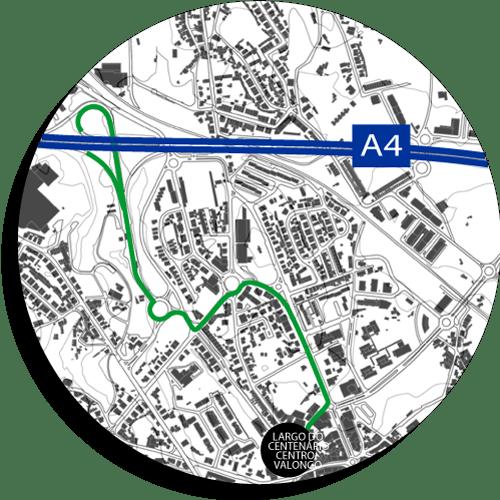 visualização de um mapa